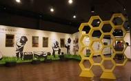 宜蘭蜂采館展覽空間