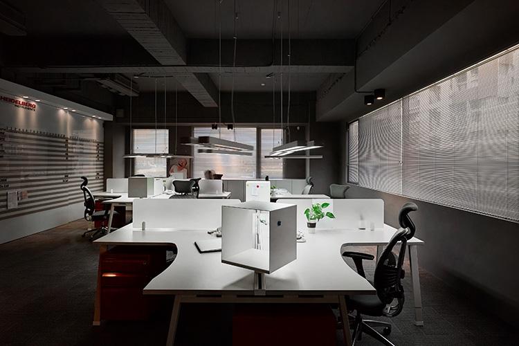 開放的辦公環境,強調零距離交流分享。