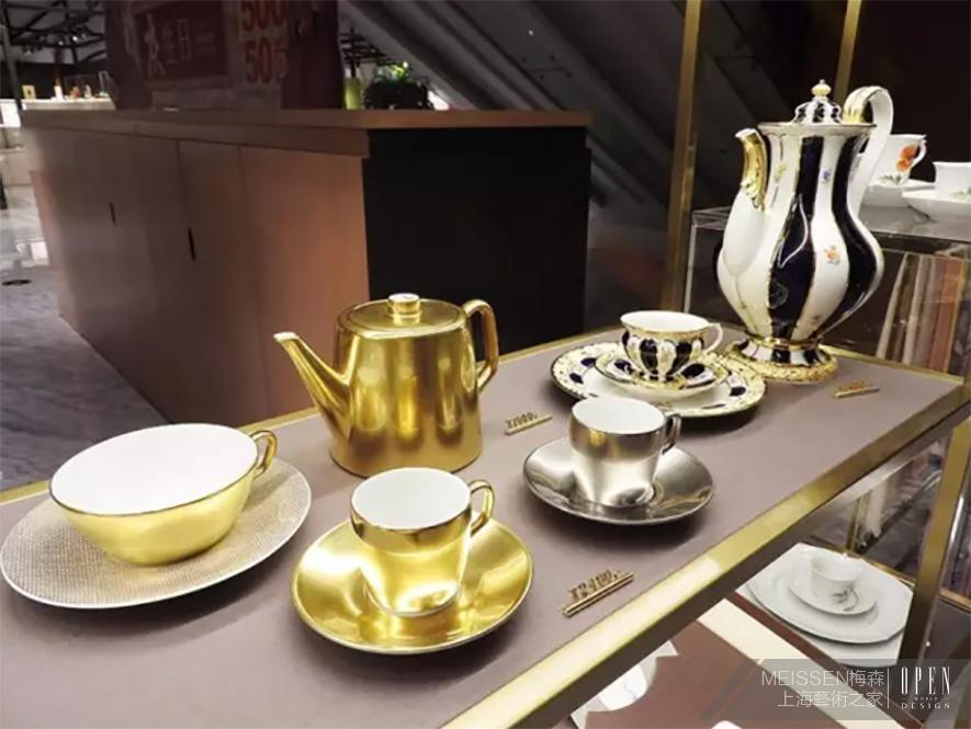 (图)令人屏息的 meissen梅森 美丽茶具与餐瓷
