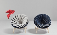 是否曾幻想乘坐於鳥羽之上盡情飛翔?這張椅子完成你的想像!