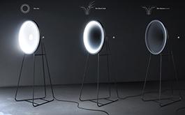 曲線ID「黑洞燈」透過輕彈開關吞噬燈光