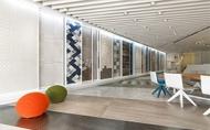 【由里室內設計 傅瓊慧、李肯】空間中唯一的主角 嶄新概念的磁磚展示