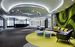 【簡兆芝室內設計 簡兆芝】種下一片綠意 讓商業大廈茂現生命枝枒