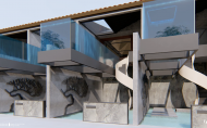 九號設計 李東燦 作品《漳州古城民宿》3D動畫影片