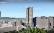 九號設計 李東燦 作品《台北都心住宅》3D動畫影片