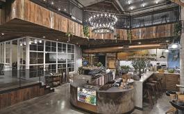 【易寬設計 張華騫】屢獲國際大獎!藏身都市叢林中的咖啡店——SMILE COFFEE
