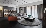 【簡兆芝室內設計 簡兆芝】墨色浸染空間大氣 燈品點綴一室藏金