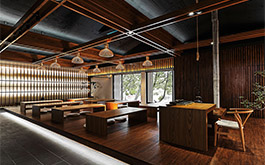 【川沃設計 謝旻軒 JASON】古色暈染自然天光 竹影襯疊一室茶香