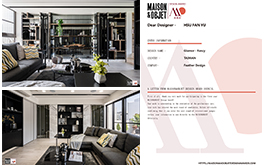 【羽築設計 徐汎羽】2020 MAISON&OBJET Design Award 敞亮宅邸巧思美名響亮國際!