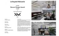 【川寓設計】2020 Novum Design Award  鍾富安滿載金銀凱旋歸來!